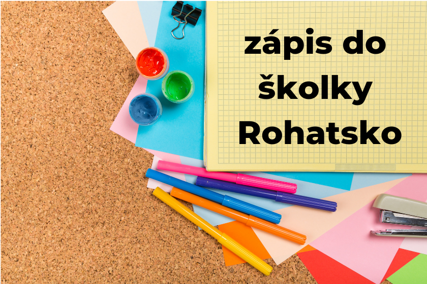 Zápis do školky Rohatsko