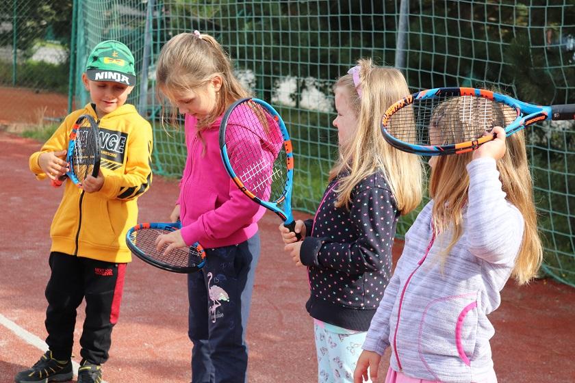 Připravujeme se na tenis